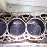 Двигатель после раскоксовки.